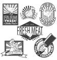 chicken meat2 vector image vector image