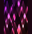 spinel fractal crystal shine abstract vector image vector image