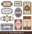 Vintage labels vector | Price: 3 Credits (USD $3)