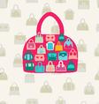 set bags fWomen bags and handbags Fashion vector image