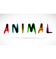 Animal character vector image vector image
