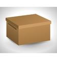 carton box package delivery icon graphic vector image vector image