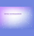 scientific molecule background for medicine vector image vector image