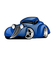 Street Rod Coupe Cartoon vector image vector image