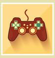 Computer Video Game Controller Joystick vector image