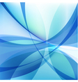Abstract light blue background with twist lines vector image vector image