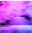 Bright triangles purple and blue colours abstract vector image vector image