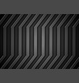 Dark concept stripes technology abstract vector image vector image