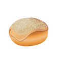 jewish bakery icon realistic style vector image vector image