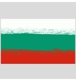 National Grunge Flag of Bulgaria Isolated vector image