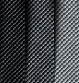 the texture carbon fiber vector image vector image