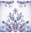 Vintage background baroque pattern vector image vector image