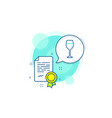 wine glass line icon bordeaux glass sign vector image vector image