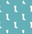 woman boots pattern seamless vector image vector image