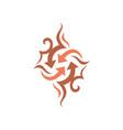 arrow icon design symbol vector image vector image