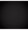 black background carbon fibre texture vector image