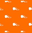 tango shoe pattern seamless vector image vector image