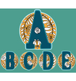ABCDE vector image