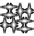 Black web page background vector image vector image