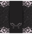 dark with lace vector image vector image