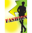 Fashion vector image vector image