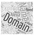 Get Traffic with Expired Domain Names Word Cloud vector image vector image