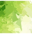 Green light abstract background vector image vector image