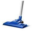 green vacuum cleaner nozzle close up vector image vector image