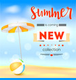 selling ad banner vintage text design summer