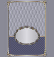 antique background with decorative frame