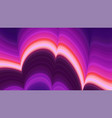 colorful wave abstract background dynamic vector image vector image