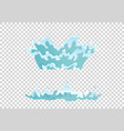 dripping water special effect fx animation frames vector image