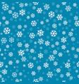 abstract seamless pattern with snowfall christmas vector image vector image