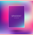 abstract template rectangle frame pink purple vector image vector image