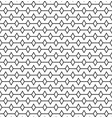 geometric lines with rombus seamless pattern vector image