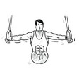 gimnastic vector image vector image