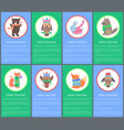 merry christmas colorful congrat postcard animals vector image