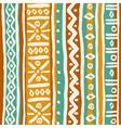 Seamless ornamental texture vector image vector image