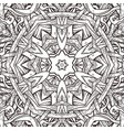 seamless pattern in mandala style vector image