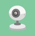 security camera cctv cartoon vector image vector image