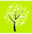 Snowflakes Tree vector image