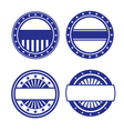 Set of Circle Icons vector image