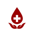 Blood-Donors-380x400 vector image vector image
