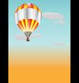 Bolloon hot air vector image vector image