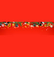 christmas banner concept holiday web header vector image