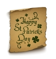 happy st patricks day background template vector image