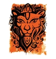 Lion head Ethnic pattern vector image vector image