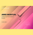 modern landing web page template vector image