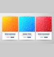 rosh hashanah flyer concepts vector image