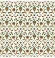 seamless ethnic ornament floral background vector image vector image